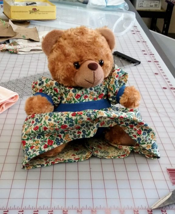 The first dressed Bear of Refugee
